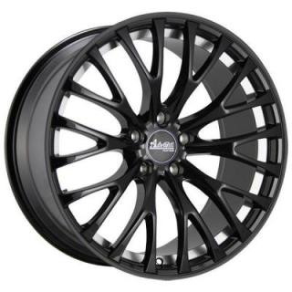 SPECIAL BUY WHEELS  ADVANTI FS FASTOSO MATTE BLACK RIM with MACHINED UNDERCUT DISPLAY SET 1 SET ONLY