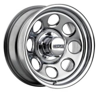 CRAGAR 398 SOFT-8 CHROME RIM from SPECIAL BUY WHEELS
