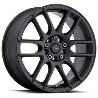 RACELINE 141B MYSTIQUE SATIN BLACK RIM DISPLAY SET 1 SET ONLY - SOLD AS IS from SPECIAL BUY WHEELS