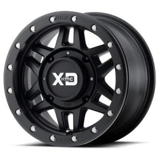 XS228 ATV/UTV MACHETE BEADLOCK SATIN BLACK RIM by XD SERIES WHEELS