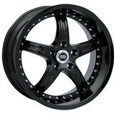 ENKEI WHEELS  LS-5 BLACK WHEEL