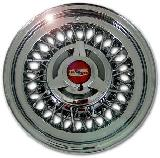 ROADSTER WIRE WHEEL  CHEVROLET WIRE WHEEL CHROME - CAP ADDITIONAL $60