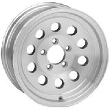 SENDEL WHEELS  S20T TRAILER SILVER MACHINED RIM
