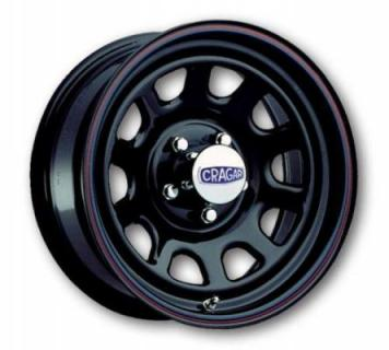 CRAGAR WHEELS  342 D WINDOW BLACK WHEEL cap additional $14.95