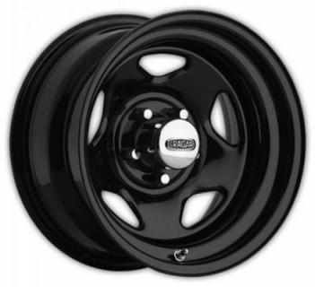 CRAGAR WHEELS  365 V-5 BLACK WHEEL cap additional $14.95