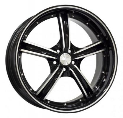 SPEEDY WHEELS  VAPOR BLACK RIM