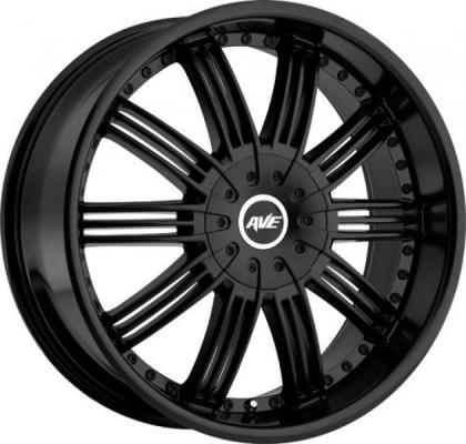 AVENUE WHEELS  A603 BLACK RIM
