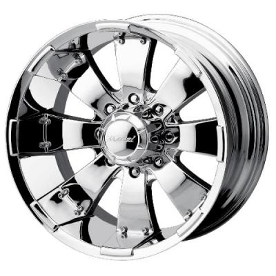 MAZZI WHEELS  HULK CHROME RIM