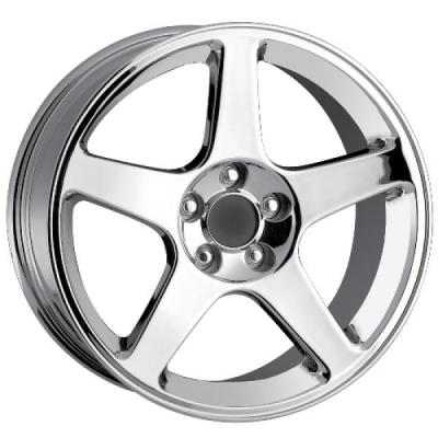 DETROIT WHEELS  STYLE 815 CHROME WHEEL
