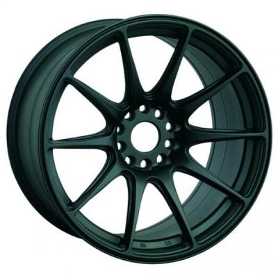 XXR WHEELS  527 FLAT BLACK