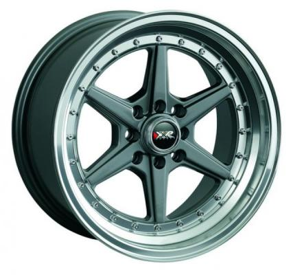XXR WHEELS  501 GUNMETAL/MACHINED