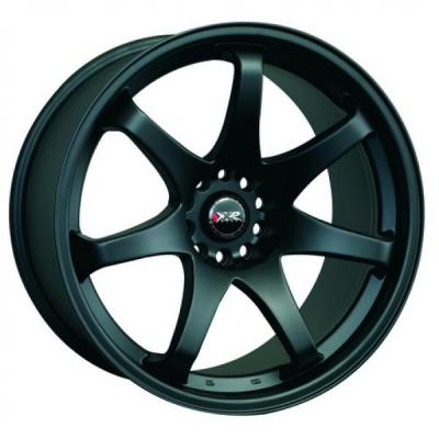 XXR WHEELS  522 FLAT BLACK