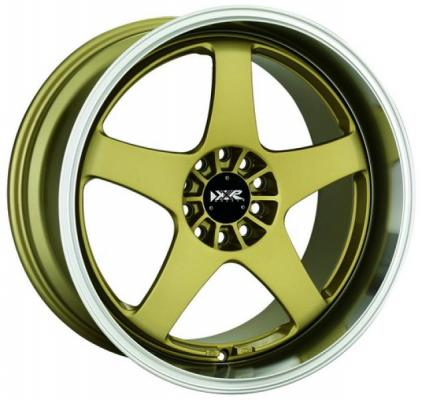 XXR WHEELS  962 GOLD/MACHINED