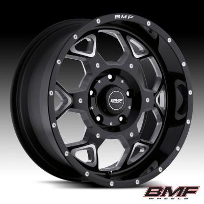 SOTA OFFROAD/BMF WHEELS  S.O.T.A. DEATH METAL BLACK RIM