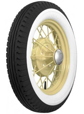 FIRESTONE VINTAGE TIRES  VINTAGE BIAS PLY 40 WHITEWALL TIRE