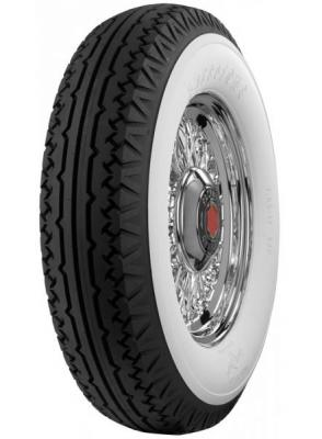 FIRESTONE VINTAGE TIRES  VINTAGE BIAS PLY 27 WHITEWALL TIRE