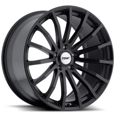 TSW WHEELS  MALLORY 5 MATTE BLACK RIM