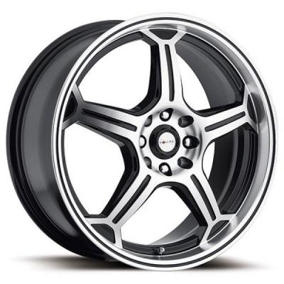 FOCAL WHEELS  F01 172 DIAMOND/BLACK RIM