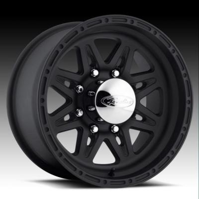 RACELINE WHEELS  892 RENEGADE 8 BLACK RIM
