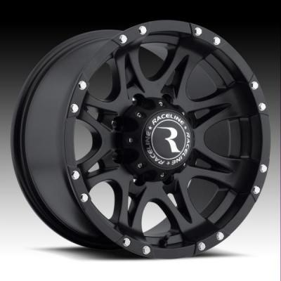 RACELINE WHEELS   981 RAPTOR BLACK RIM