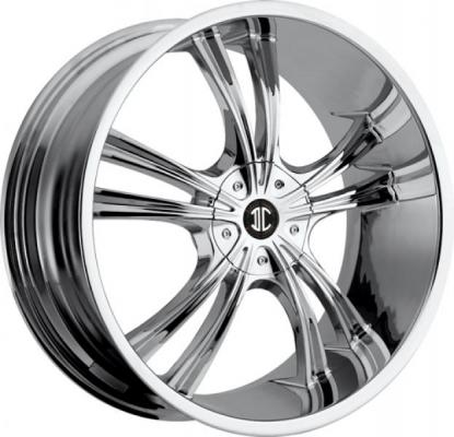 2 CRAVE WHEELS  2 CRAVE N02 CHROME RIM