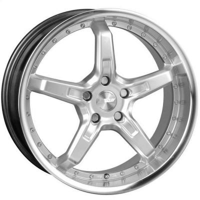 SPEEDY WHEELS  INFERNO SILVER RIM with MACHINED LIP