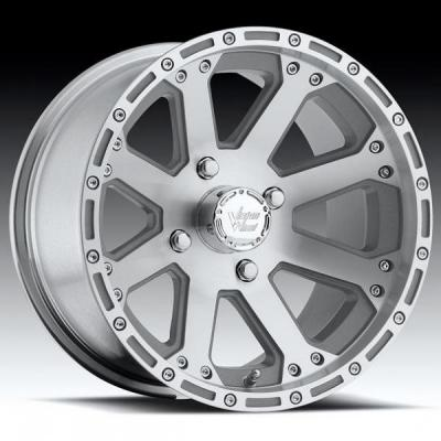 VISION WHEELS  OUTBACK 159 ATV MACHINED RIM with CLEAR COAT