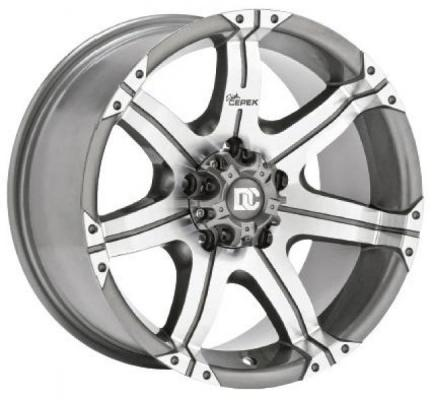 DICK CEPEK WHEELS  DC GUN METAL 7 RIM