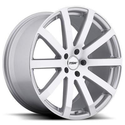TSW WHEELS - EARLY BLACK FRIDAY SPECIALS!   BROOKLANDS SILVER RIM with MIRROR CUT FACE