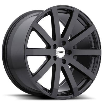 TSW WHEELS  BROOKLANDS MATTE BLACK RIM