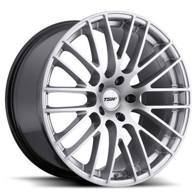 TSW WHEELS - OCT. SALE!  MAX HYPER SILVER RIM