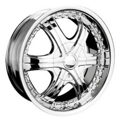 RPM WHEELS  M-511 CHROME RIM