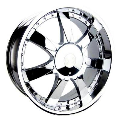 RPM WHEELS  M-514 CHROME RIM