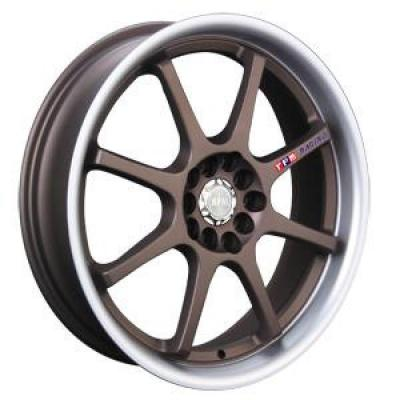 RPM WHEELS  R-504 BRONZE RIM with MACHINED LIP