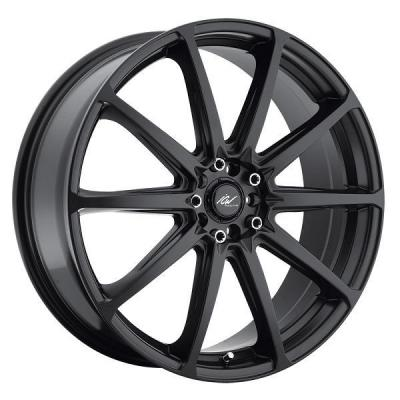 ICW WHEELS  215B BANSHEE SATIN BLACK RIM