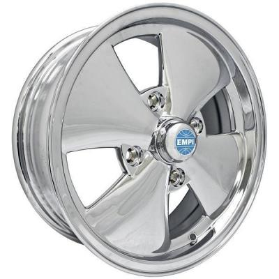 EMPI VINTAGE VW  VW 4 SPOKE CHROME RIM
