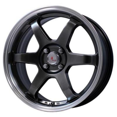 SPECIAL BUY WHEELS  VOXX WHEELS - V6 GUNMETAL RIM with MACHINED LIP PPT