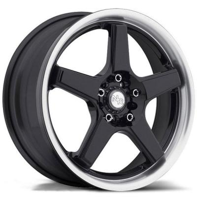 NICHE WHEELS  NR5 M120 BLACK/MACHINED