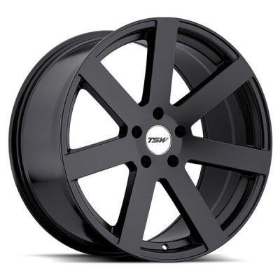 TSW WHEELS - OCT. SALE!  BARDO MATTE BLACK RIM