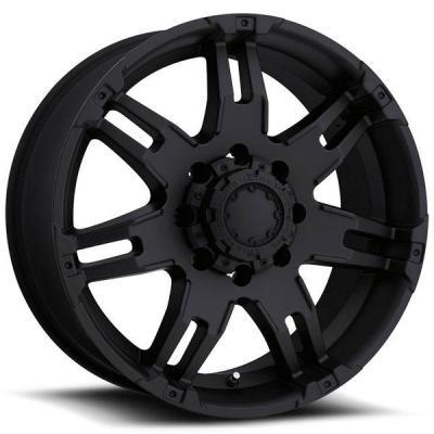 ULTRA WHEELS  GAUNTLET 237/238 MATTE BLACK 8 LUG RIM