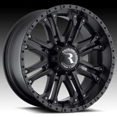 RACELINE WHEELS   995B OCTANE BLACK RIM