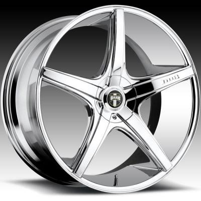 DUB WHEELS  RIO 5 S112 CHROME RIM