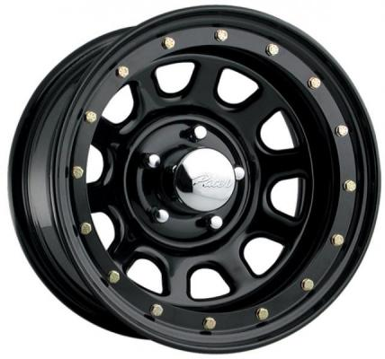 PACER WHEELS  252B STREET LOCK BLACK RIM