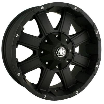 MAYHEM WHEELS  CHAOS MATTE BLACK RIM