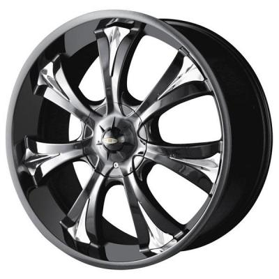 BACCARAT WHEELS  MIRAGE BLACK RIM