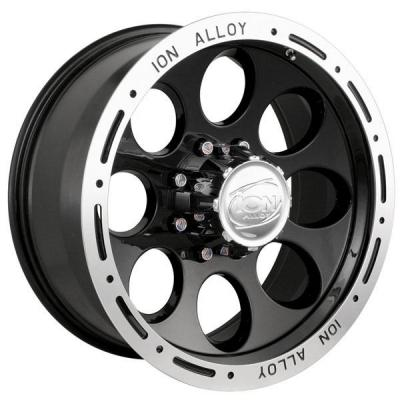 ION ALLOY WHEELS  TYPE 174 BLACK RIM
