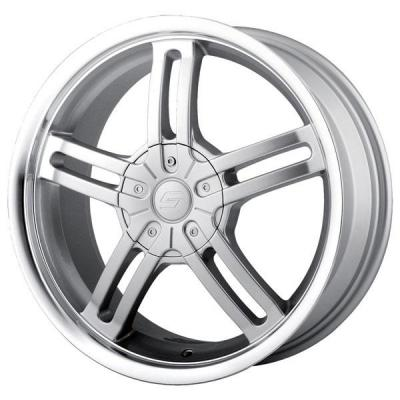 SACCHI WHEELS  S12 HYPERSILVER RIM with MACHINED LIP