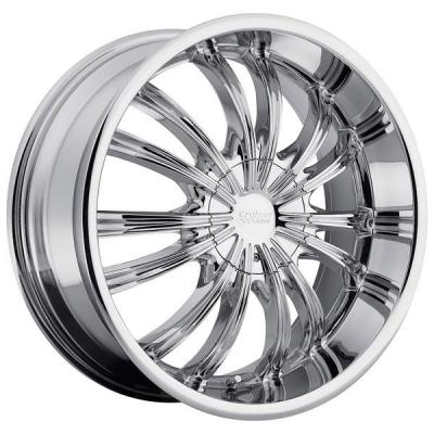 CRUISER ALLOY WHEELS  912C SHADOW CHROME WHEEL