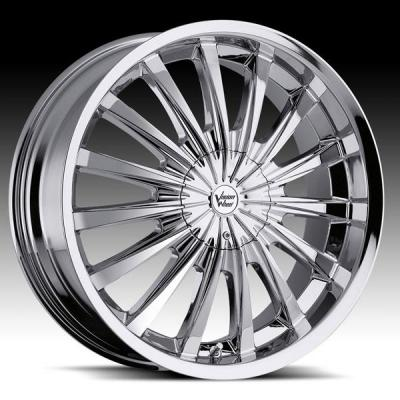 VISION WHEELS  SHATTERED 454 FWD CHROME RIM