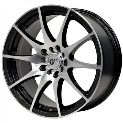SPECIAL BUY WHEELS  GFX G10 GLOSS BLACK/MACHINED FACE